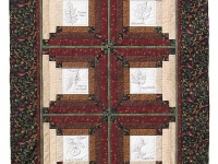 Gardene'rs Journal Lap Quilt